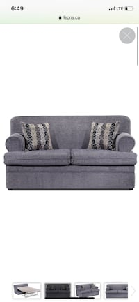 Couch with pull out bed purchased from leons Vaughan, L4L 6K7
