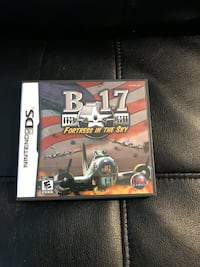 Nintendo DS game B-17 Fortress in the Sky Sterling, 20164