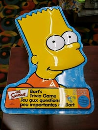 Bart Simpsons Trivia Game