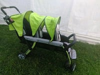 baby's green and black stroller Newport News, 23607