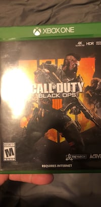 Ps4 call of duty black ops 4 great condition Banning, 92220