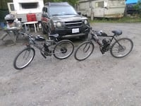 Murray and huffy gas bikes