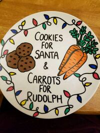 Handpainted Christmas Cookie Plates! St. Catharines, L2M 7S5