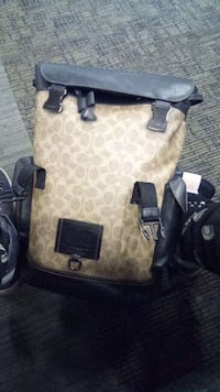 Leather Coach New York edition