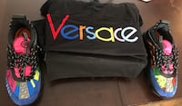 FOR SALE VERSACE T SHIRT AND SNEAKERS Glen Burnie, 21061