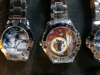 NFL Football team Stainless steel Watches brand new Look