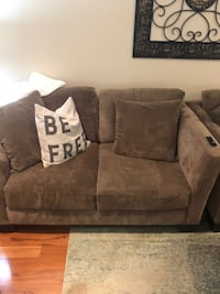 2 Loveseats + Ottoman with Storage (Like New!) Great Falls
