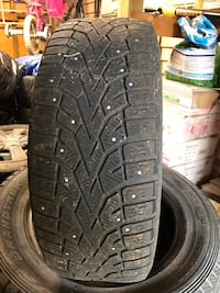 Bmw with winter studded tires 16inch Calgary, T3A 1Z2