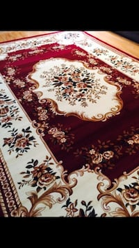 Brand new Traditional Design floral area rug size 8x11 nice red carpet Persian style rugs and carpets Fairfax, 22033