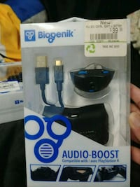 PS4 extra charge and audioboost Toronto, M1B 4P5