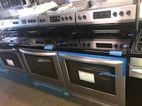 New electric stove stainless steel brand new Frigidaire 6 months warra Halethorpe, 21227