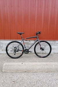 black and red road bike Mississauga, L4Y 2B6