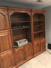 Bookcases-3 Solid Wood Bookcases RESTON
