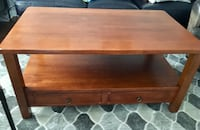 Rectangular brown wooden coffee table Kitchener, N2M