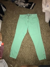 Tommy Hilfiger Mint Green Jeans Horizon City, 79928