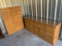 Dresser and chest set Troy, 48083