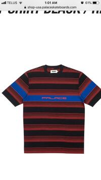 Palace Striped Tee Vaughan, L6A 0R6