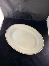 Turkey platter dish Johnson bros Bradford West Gwillimbury, L3Z 0X4