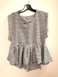 New striped peplum  Oklahoma City, 73116