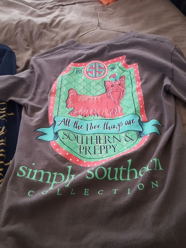 14499ea3e Used yorkie simply southern long sleeved shirt for sale in Wilmington -  letgo