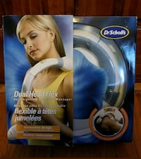 Brand new Dr. Scholl's dual head cordless massager