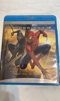 Spider- man 3 Blueray  Vaughan, L4J 4T8