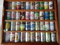 Two Framed Beer Can Collections PURCELLVILLE