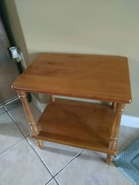 Vintage hardwood telephone table Whitchurch-Stouffville, L4A 0H4