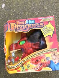 Fire ice dragons toy