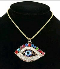 Betsey Johnson Eye Pendant Charm Necklace London, N6E 1V4