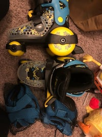 Black-and-yellow inline skates Beaumont, 77706
