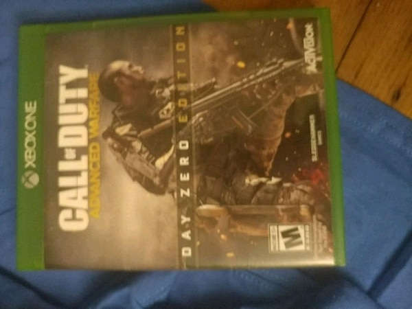 Call of Duty Advanced Warfare PS4 game case