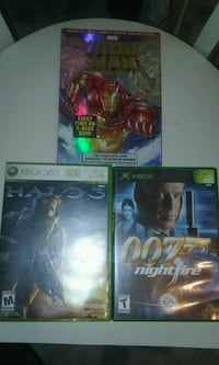 Halo 3 Xbox 360 007 nightfire Xbox ironman DVD new New York