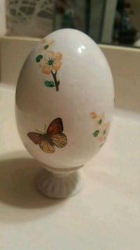 Ceramic Egg with Butterflies Jersey Village, 77040