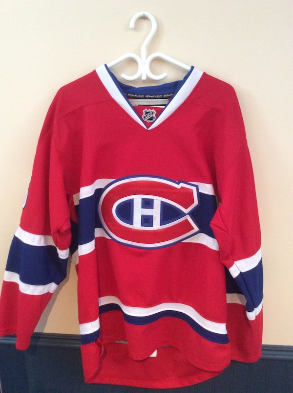 Used Chandail PK Subban Canadiens - édition du centaire  red and blue  montreal canadiens jersey shirt for sale in Longueuil bbea3467dd9