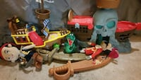 Jake & the pirates toy lot