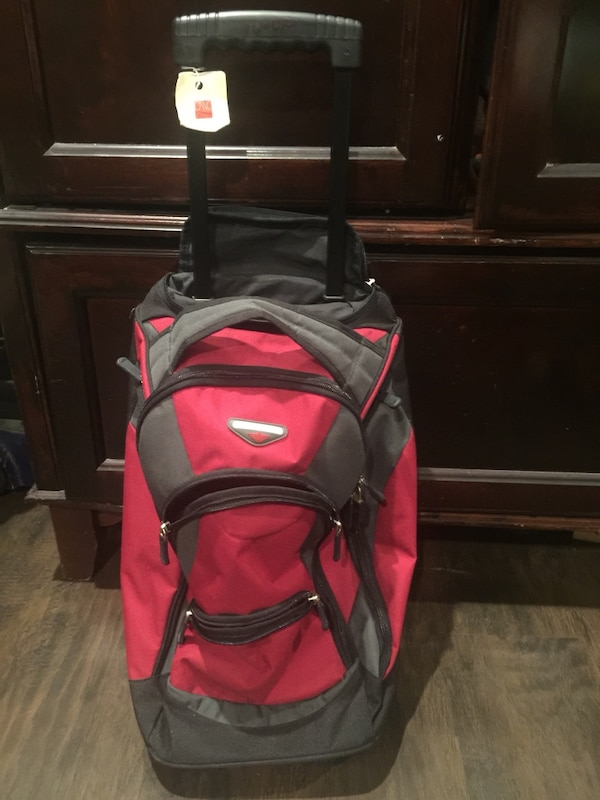 75b0fe015 Used NWT red Dockers rolling Duffle backpack for sale in Davie - letgo