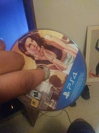 PS4 game disc