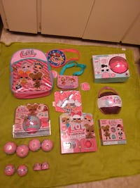 LOL doll toys, games, and accessories lot! All brand new and sealed! Abbotsford