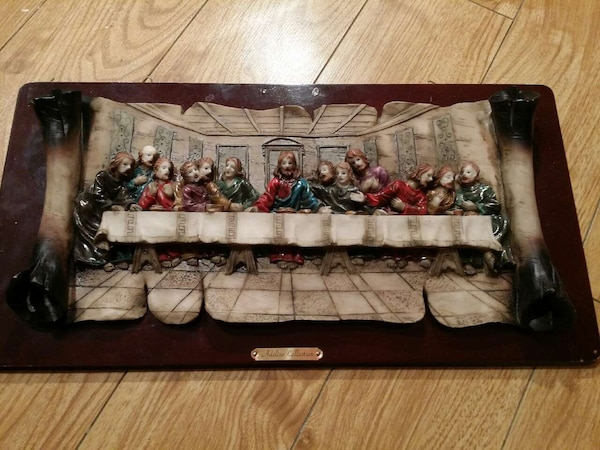 Used Adeline Collection Last Supper Sculpture For Sale In Montreal Letgo