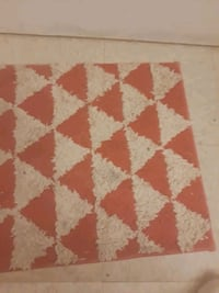white and brown area rug Decatur, 30032