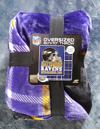 "Baltimore Ravens 60"" x 70"" throw/blanket Baltimore"