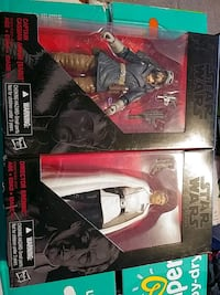 STAR WARS BLACK SERIES ACTION FIGURES