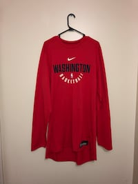 Nike Washington Wizards Long Sleeve Shirt Columbia, 21044
