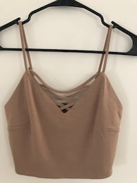 Forever 21 Nude Crop Top ( S ) •NEW• Weston, 33327