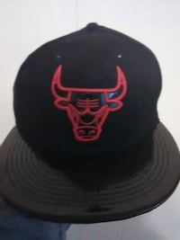 black and red Chicago Bulls fitted cap Nebo, 42441