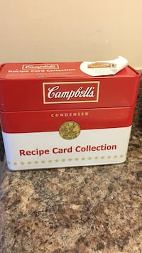 Campbell recipe card collection box Indianapolis, 46268