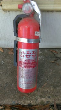 Vintage!!!! All Out 1974 fire extinguisher