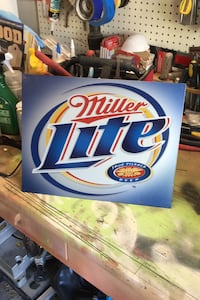 Miller lite sign Clifton, 20124