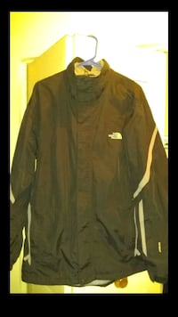 black The North Face zip-up jacket Annandale, 22003